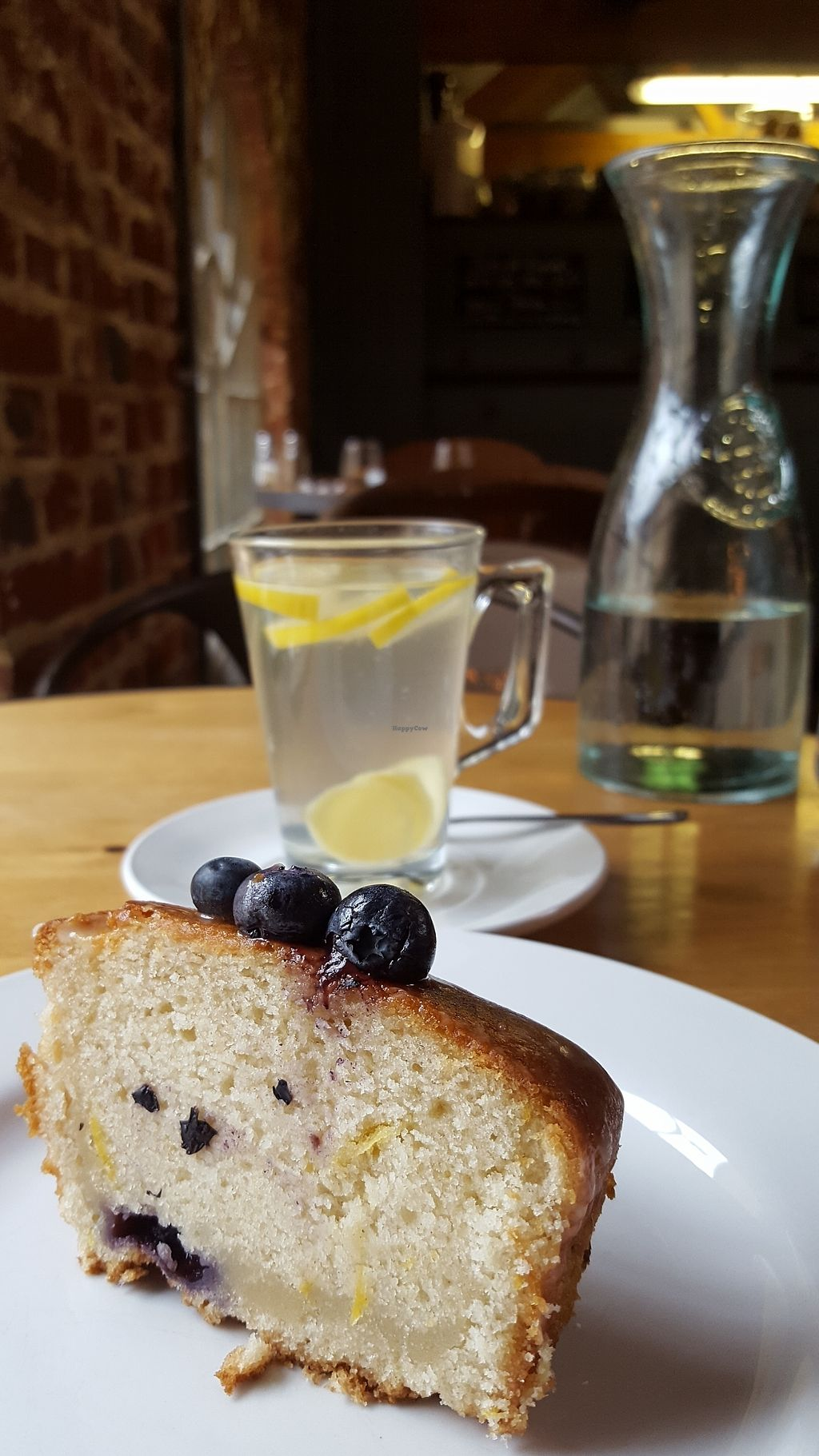 "Photo of Wild Thyme  by <a href=""/members/profile/VeganAnnaS"">VeganAnnaS</a> <br/>Lemon drizzle cake and fresh lemon and giner tea <br/> September 25, 2017  - <a href='/contact/abuse/image/43777/308438'>Report</a>"
