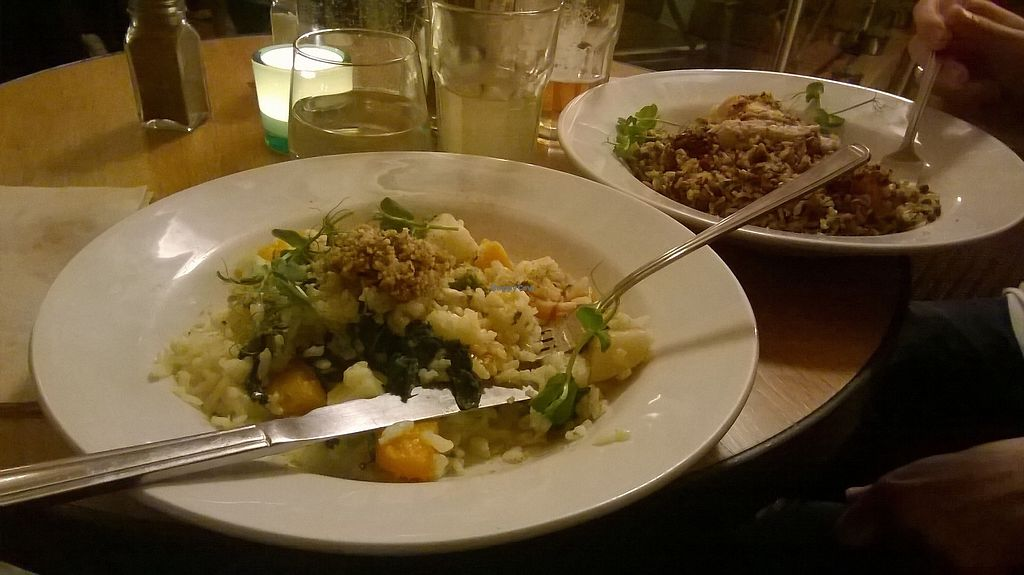 "Photo of Wild Thyme  by <a href=""/members/profile/vanillatea"">vanillatea</a> <br/>Wintry risotto and a quinoa dish <br/> April 5, 2018  - <a href='/contact/abuse/image/43777/381279'>Report</a>"