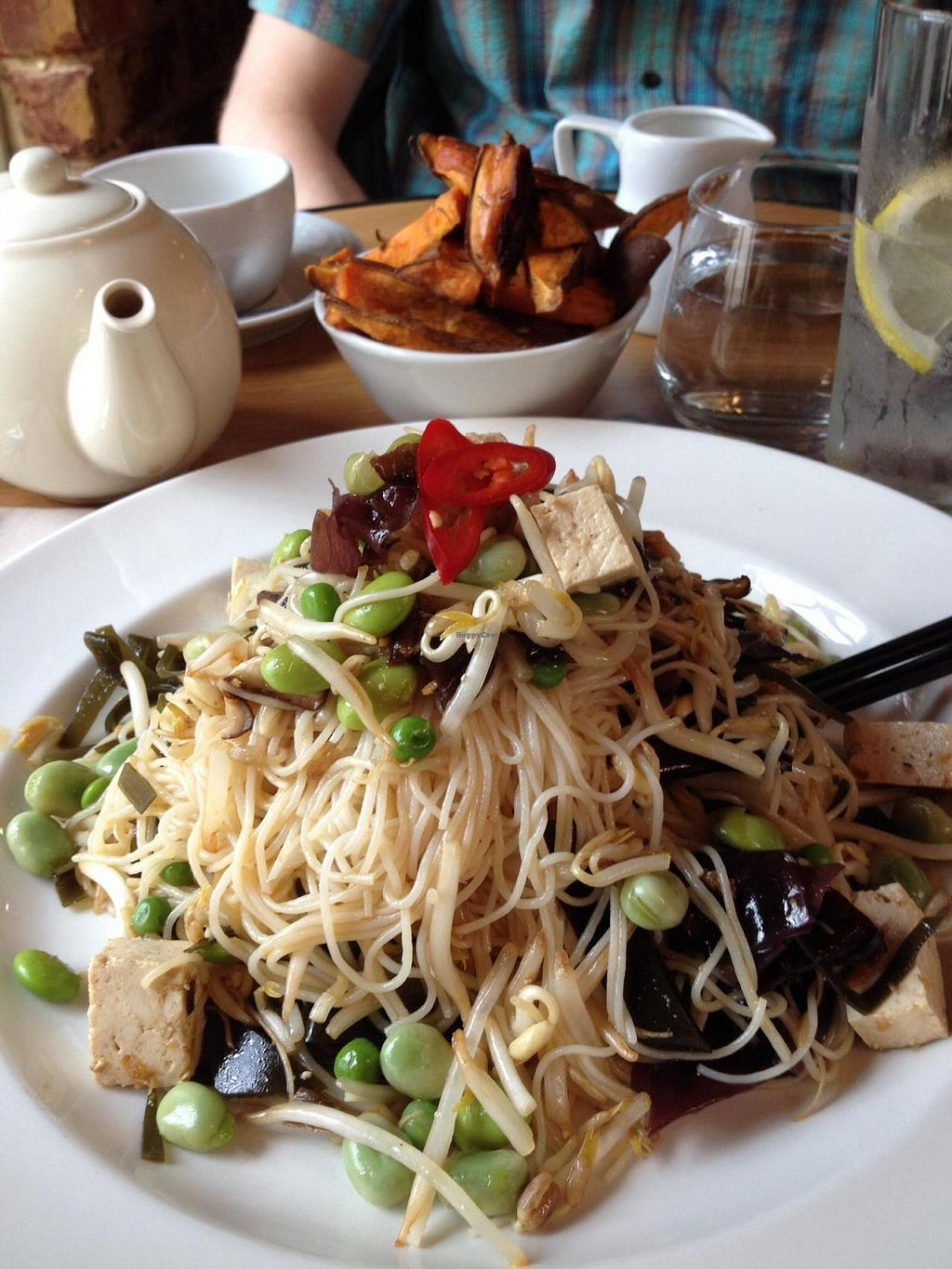 "Photo of Wild Thyme  by <a href=""/members/profile/Clare%20Bear"">Clare Bear</a> <br/>Tasty vegan Japanese noodle salad! <br/> July 5, 2014  - <a href='/contact/abuse/image/43777/73269'>Report</a>"
