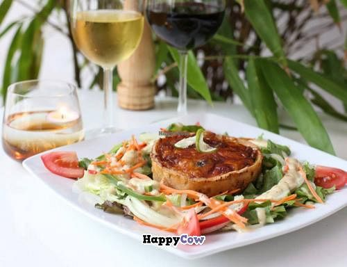 """Photo of Meta House Art Cafe  by <a href=""""/members/profile/rhabarber"""">rhabarber</a> <br/>Pumpkin and Spinach Quiche <br/> December 16, 2013  - <a href='/contact/abuse/image/43781/60425'>Report</a>"""