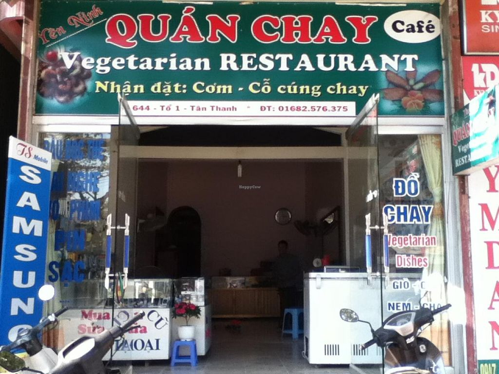"Photo of Yen Ninh  by <a href=""/members/profile/rus2311"">rus2311</a> <br/>The first vegetarian restaurant ever in Dien Bien Phu city - which is famous for its history of Dien Bien Phu victory in 1954. Lots of delicious vegan food with an English menu, free WIFI using, English speaking waiter <br/> January 18, 2014  - <a href='/contact/abuse/image/43800/62699'>Report</a>"