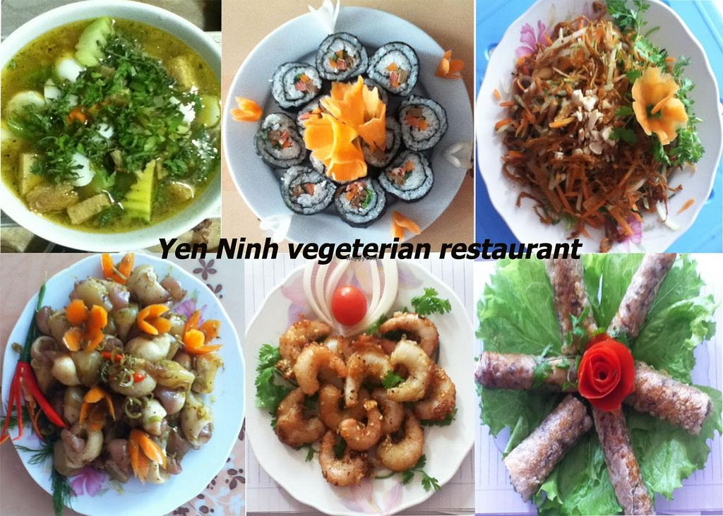 "Photo of Yen Ninh  by <a href=""/members/profile/rus2311"">rus2311</a> <br/>Some vegan dishes <br/> January 18, 2014  - <a href='/contact/abuse/image/43800/62703'>Report</a>"