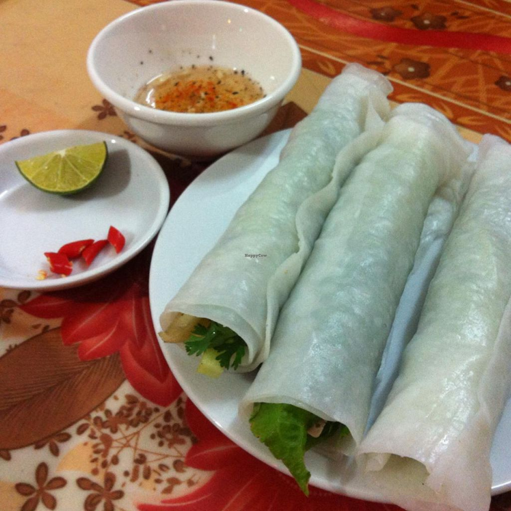 "Photo of Yen Ninh  by <a href=""/members/profile/blaim"">blaim</a> <br/>delicious fresh spring rolls with homemade dipping sauce - not fish sauce! <br/> February 28, 2014  - <a href='/contact/abuse/image/43800/64961'>Report</a>"