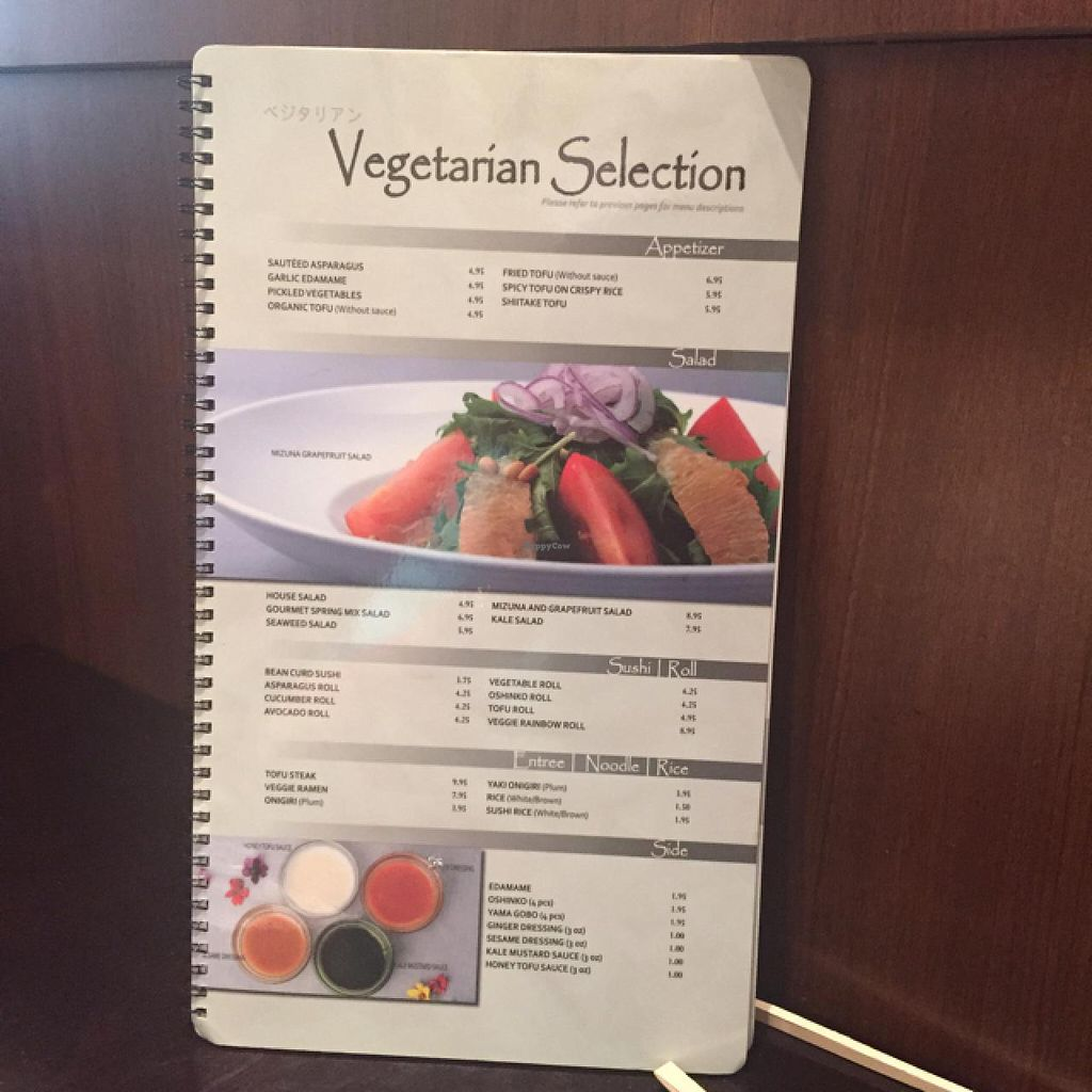 """Photo of CLOSED: Kabuki - Summerlin  by <a href=""""/members/profile/VeganLeaks"""">VeganLeaks</a> <br/>All Vegan! <br/> May 16, 2015  - <a href='/contact/abuse/image/43810/102436'>Report</a>"""