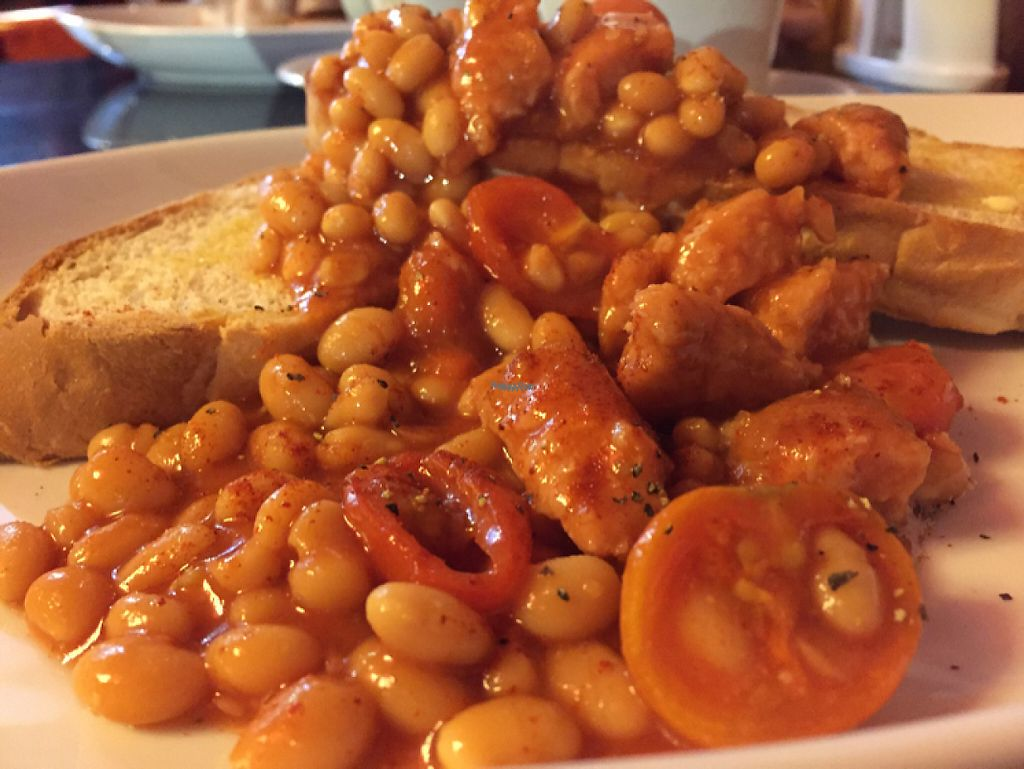 """Photo of Jumping Bean Cafe  by <a href=""""/members/profile/DonnaC"""">DonnaC</a> <br/>posh beans on toast <br/> January 21, 2017  - <a href='/contact/abuse/image/43811/214233'>Report</a>"""