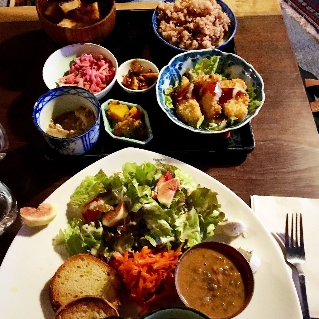 """Photo of Organic House Salute  by <a href=""""/members/profile/alexanderamanda88"""">alexanderamanda88</a> <br/>Ordered two things and split with my mom. LOVED the lentil soup and tofu.  <br/> November 14, 2016  - <a href='/contact/abuse/image/43818/189869'>Report</a>"""
