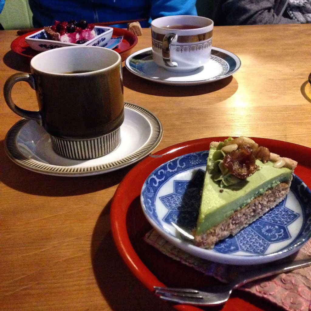"""Photo of Organic House Salute  by <a href=""""/members/profile/kat.ross"""">kat.ross</a> <br/>Coffee and cake set  <br/> March 20, 2017  - <a href='/contact/abuse/image/43818/238792'>Report</a>"""