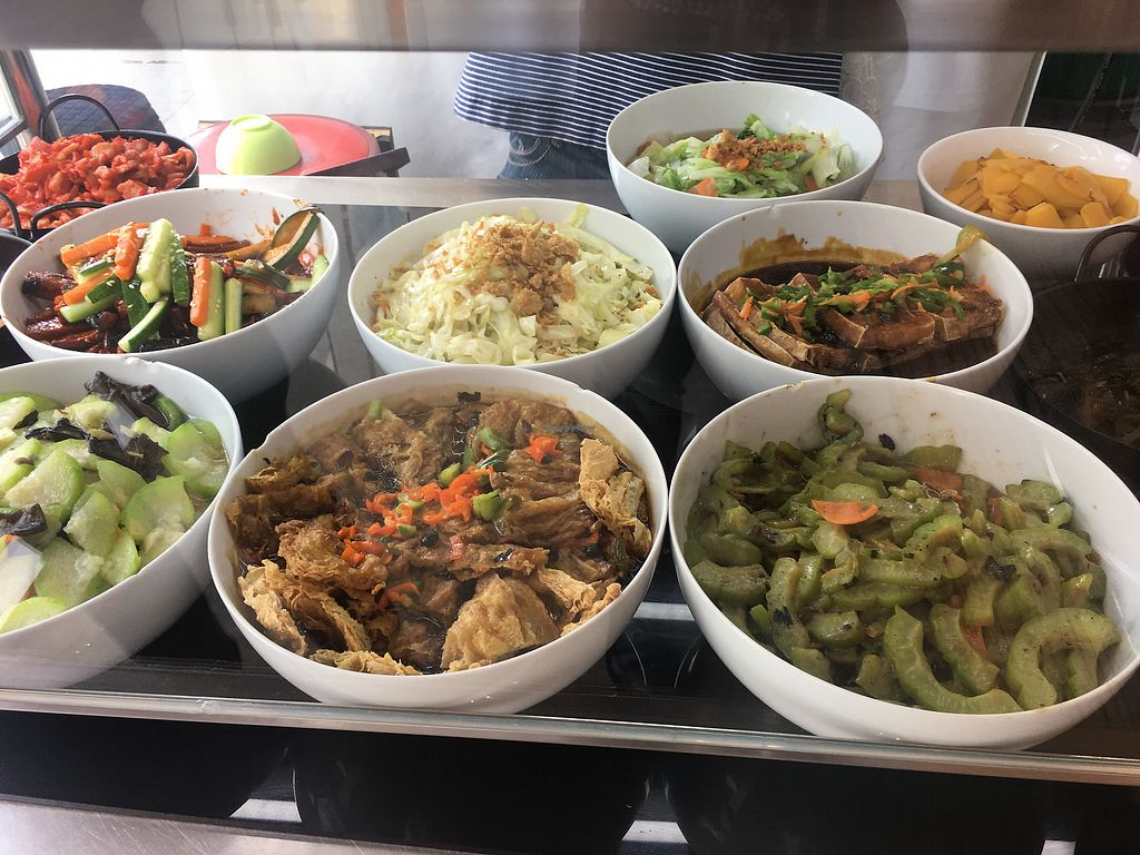 """Photo of Yuan Vegetarian Bistro  by <a href=""""/members/profile/BernardKoh"""">BernardKoh</a> <br/>Wide variety  <br/> February 20, 2018  - <a href='/contact/abuse/image/43835/361559'>Report</a>"""