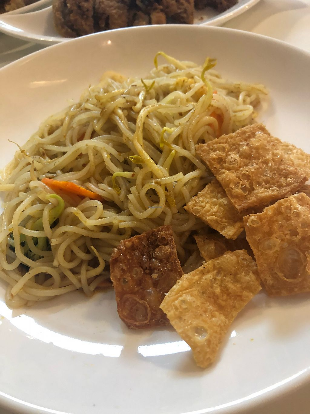 """Photo of Yuan Vegetarian Bistro  by <a href=""""/members/profile/AmyLeySzeThoo"""">AmyLeySzeThoo</a> <br/>Fried Laksa <br/> March 23, 2018  - <a href='/contact/abuse/image/43835/374763'>Report</a>"""