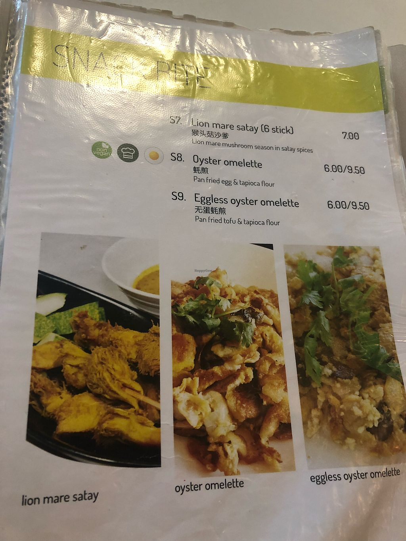 "Photo of Yuan Vegetarian Bistro  by <a href=""/members/profile/AmyLeySzeThoo"">AmyLeySzeThoo</a> <br/>Snacks Menu <br/> March 23, 2018  - <a href='/contact/abuse/image/43835/374768'>Report</a>"