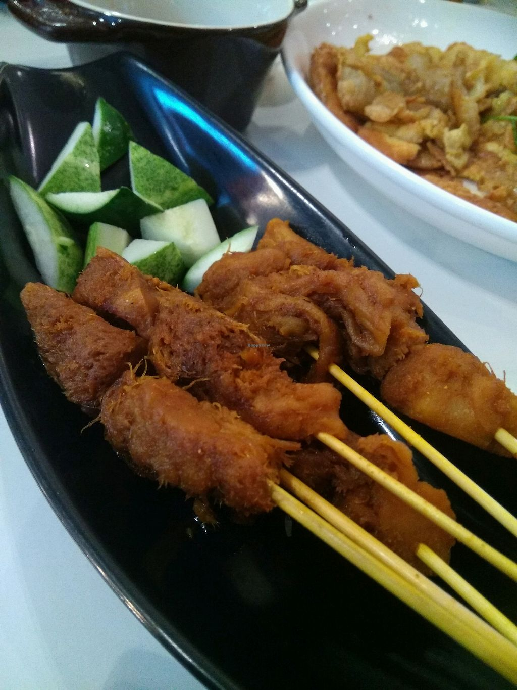 """Photo of Yuan Vegetarian Bistro  by <a href=""""/members/profile/AdelOng"""">AdelOng</a> <br/>Lion Mane Satay  <br/> May 4, 2018  - <a href='/contact/abuse/image/43835/394832'>Report</a>"""