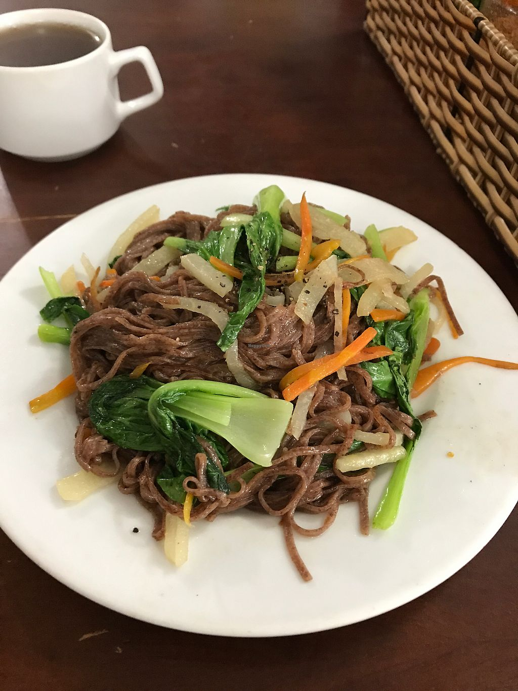 """Photo of Khai Minh 2  by <a href=""""/members/profile/ctpetro14"""">ctpetro14</a> <br/>red rice noodles over vegetables <br/> August 29, 2017  - <a href='/contact/abuse/image/43848/298520'>Report</a>"""