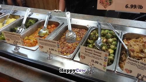 """Photo of Abby's Health and Nutrition  by <a href=""""/members/profile/eric"""">eric</a> <br/>hot bar vegan items <br/> October 28, 2013  - <a href='/contact/abuse/image/4384/57441'>Report</a>"""