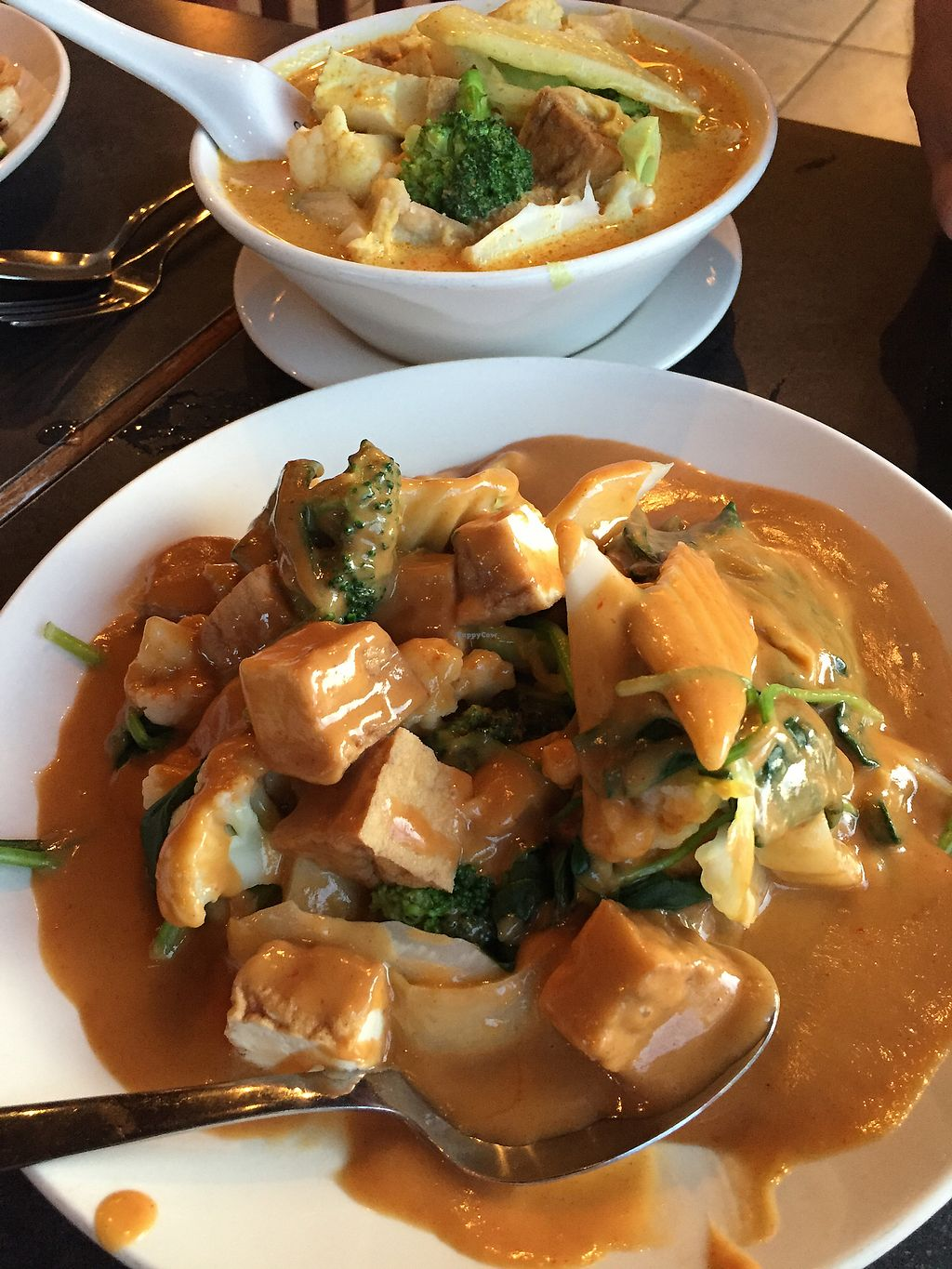 "Photo of Little Thai Place  by <a href=""/members/profile/TLC%20Veg."">TLC Veg.</a> <br/>curry!!  <br/> August 25, 2017  - <a href='/contact/abuse/image/43855/296881'>Report</a>"