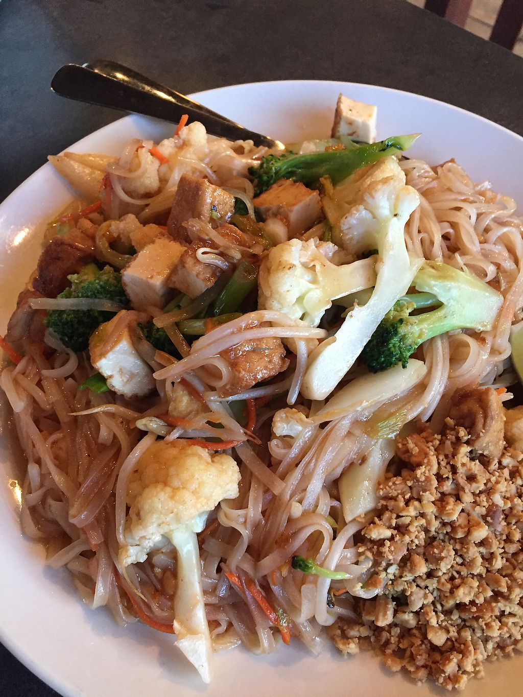 "Photo of Little Thai Place  by <a href=""/members/profile/TLC%20Veg."">TLC Veg.</a> <br/>Pad Thai!  <br/> August 25, 2017  - <a href='/contact/abuse/image/43855/296882'>Report</a>"
