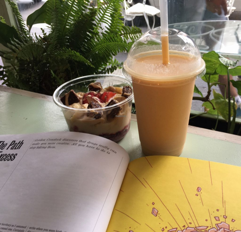 "Photo of Orchard on Long  by <a href=""/members/profile/blackrabbit"">blackrabbit</a> <br/>smoothie and fruit bowl <br/> November 6, 2015  - <a href='/contact/abuse/image/43882/124107'>Report</a>"