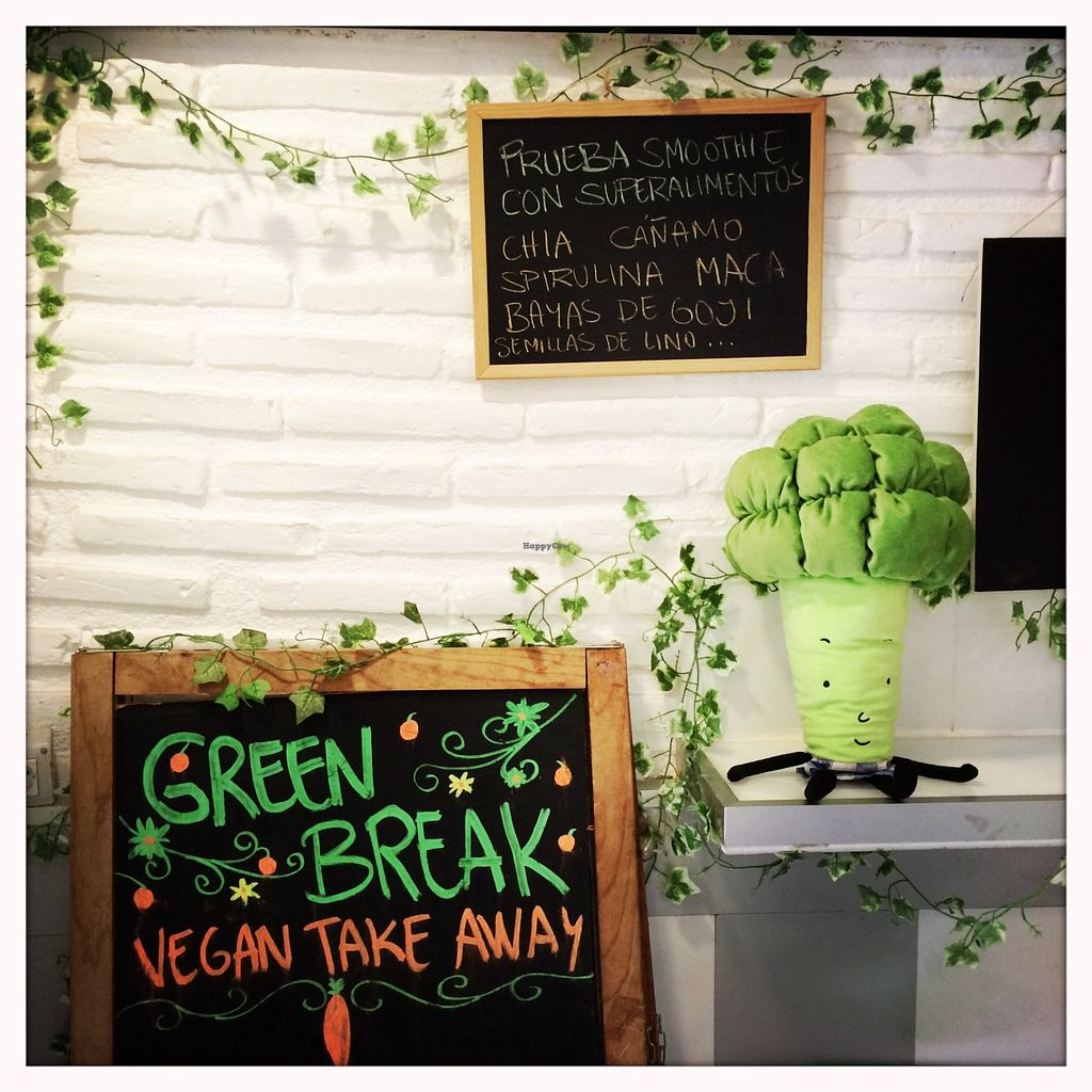 """Photo of CLOSED: Green Break Vegan Restaurant  by <a href=""""/members/profile/LilianaNicolau"""">LilianaNicolau</a> <br/>Green Break <br/> February 25, 2016  - <a href='/contact/abuse/image/43886/137716'>Report</a>"""