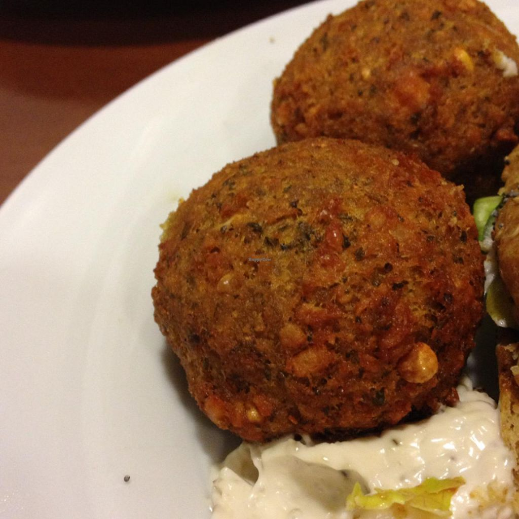 """Photo of CLOSED: Green Break Vegan Restaurant  by <a href=""""/members/profile/Duo"""">Duo</a> <br/>Falafel w/ vegan mayonnaise <br/> February 15, 2014  - <a href='/contact/abuse/image/43886/64331'>Report</a>"""