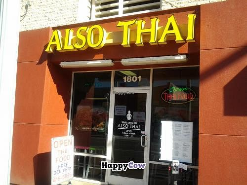 """Photo of CLOSED: Also Thai  by <a href=""""/members/profile/Vegan%20Tom"""">Vegan Tom</a> <br/>The Front of Also Thai <br/> December 13, 2013  - <a href='/contact/abuse/image/43893/60269'>Report</a>"""