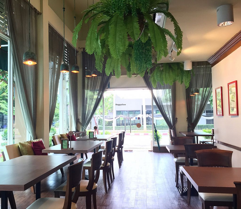"""Photo of CLOSED: J Kitchen  by <a href=""""/members/profile/MyVeganJoy"""">MyVeganJoy</a> <br/>wonderful setting, peaceful, air conditioned, wifi <br/> August 22, 2017  - <a href='/contact/abuse/image/43922/295486'>Report</a>"""