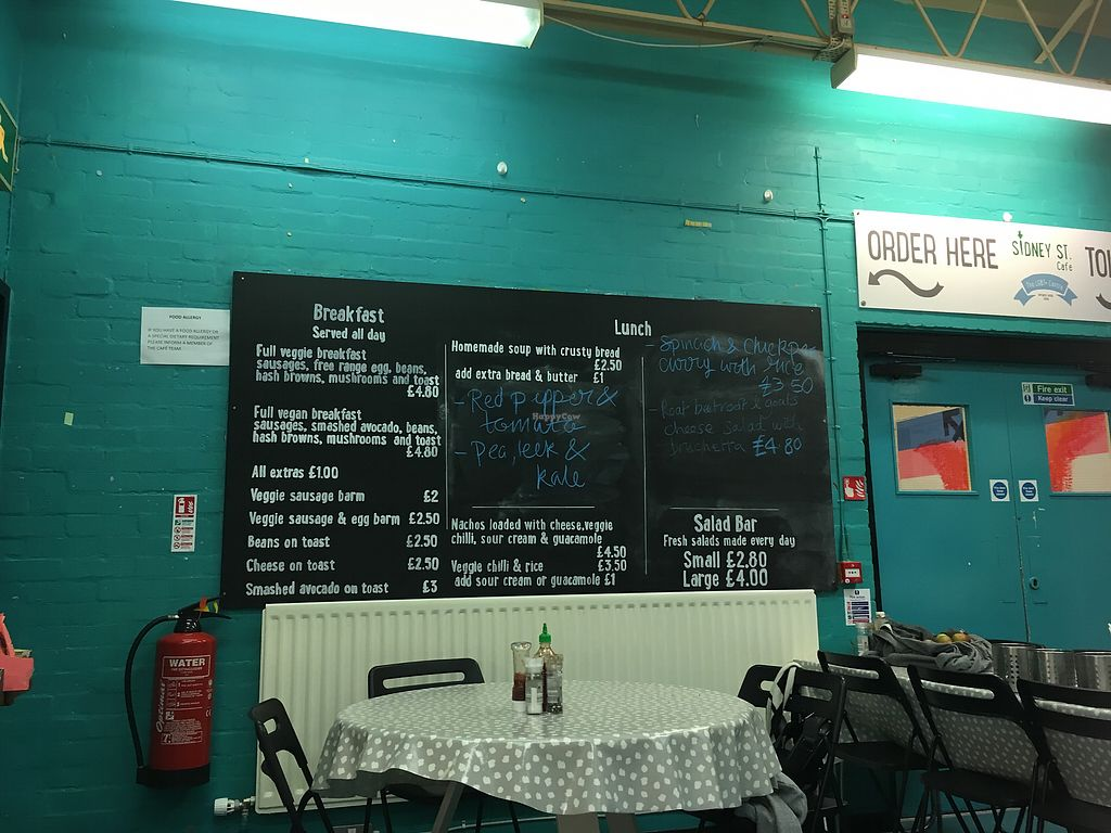 """Photo of Sidney Street Cafe  by <a href=""""/members/profile/monisonfire"""">monisonfire</a> <br/>menu <br/> October 6, 2017  - <a href='/contact/abuse/image/43940/312328'>Report</a>"""