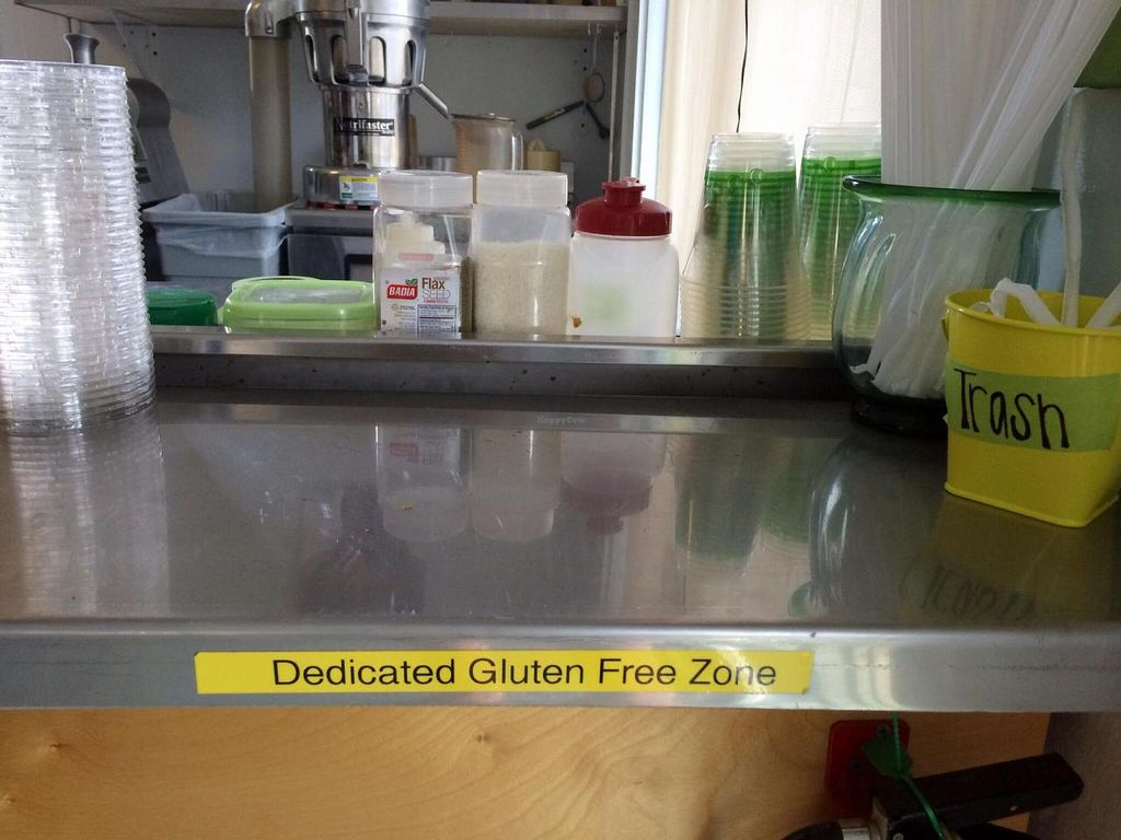 "Photo of Daily Green  by <a href=""/members/profile/kmilitello"">kmilitello</a> <br/>Dedicated gluten free area <br/> October 22, 2014  - <a href='/contact/abuse/image/43944/83670'>Report</a>"