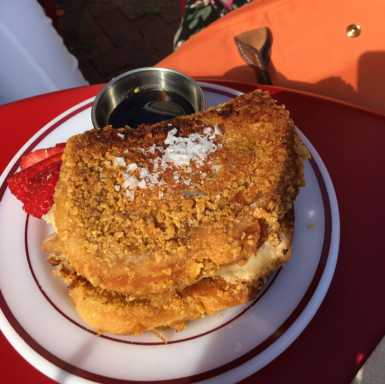 "Photo of Glory Doughnuts  by <a href=""/members/profile/daroff"">daroff</a> <br/>Apple Pie French Toast <br/> August 28, 2016  - <a href='/contact/abuse/image/43952/171947'>Report</a>"