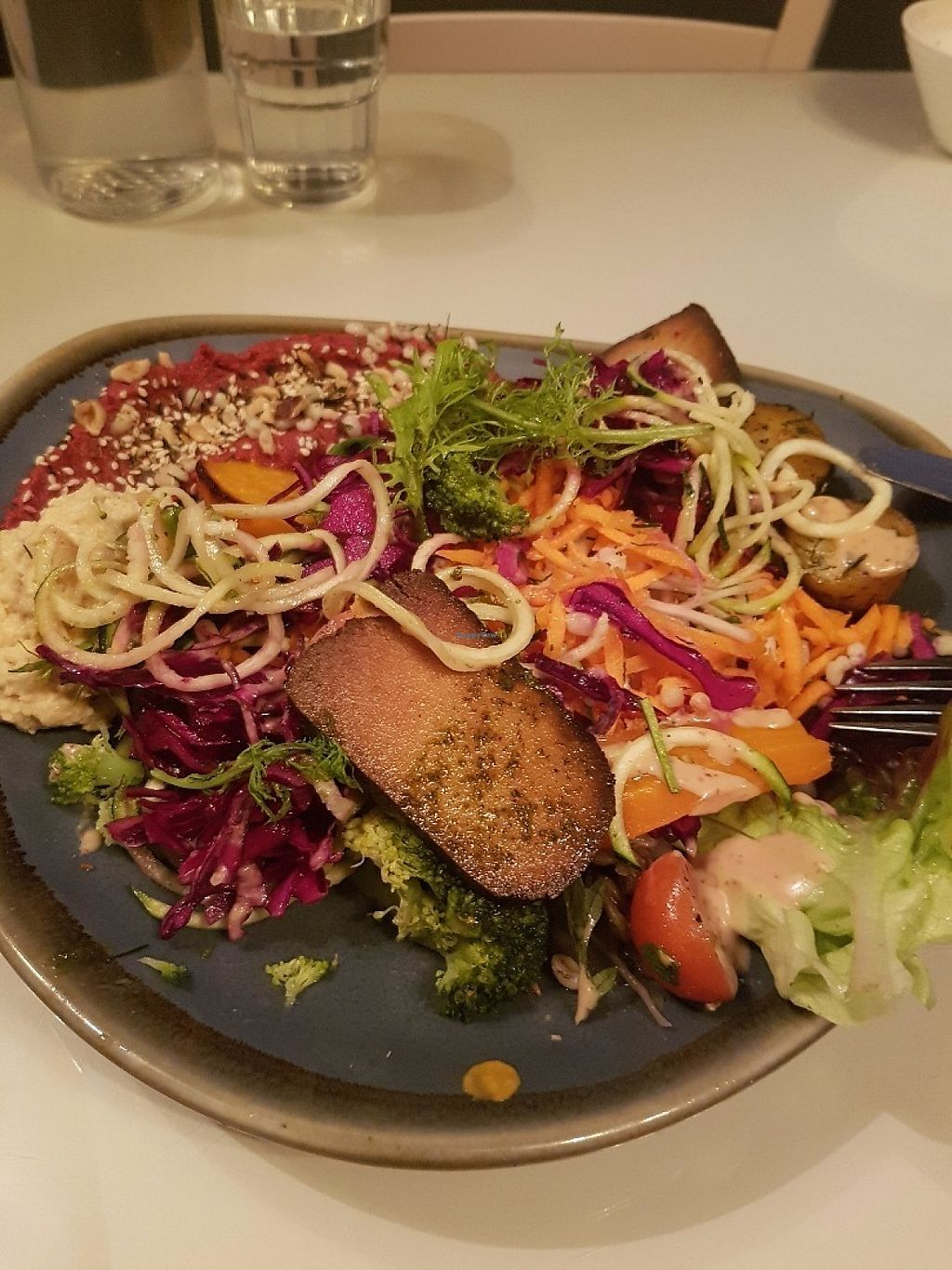 """Photo of The Light House  by <a href=""""/members/profile/DonnaKeady"""">DonnaKeady</a> <br/>Fresh salad with Tofo so tasty and filling <br/> May 27, 2017  - <a href='/contact/abuse/image/43959/263116'>Report</a>"""