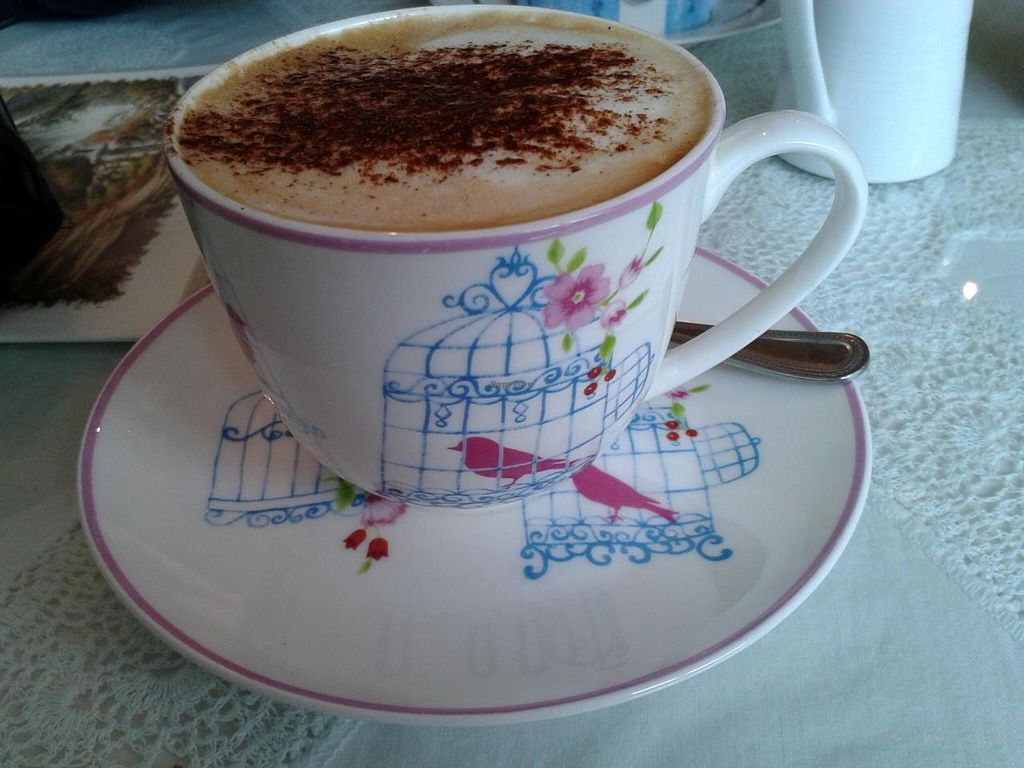 """Photo of The Light House  by <a href=""""/members/profile/JonJon"""">JonJon</a> <br/>Vegan cappuccino <br/> May 8, 2014  - <a href='/contact/abuse/image/43959/69627'>Report</a>"""