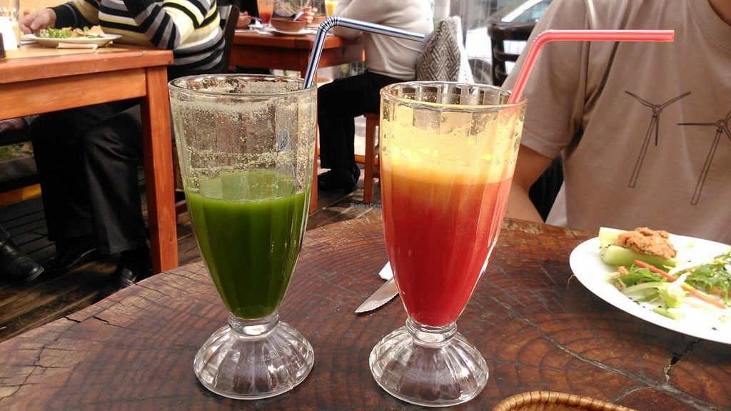 """Photo of La Fraternal  by <a href=""""/members/profile/arya00"""">arya00</a> <br/>Fresh juices (made from real fruit and veg, not the sugary stuff you get elsewhere) <br/> August 3, 2014  - <a href='/contact/abuse/image/43984/75888'>Report</a>"""