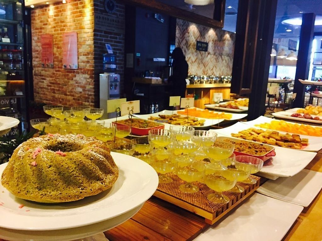 """Photo of Garobee Well Being Buffet  by <a href=""""/members/profile/huijeong"""">huijeong</a> <br/>No butter, milk, egg. Only vegan food <br/> January 18, 2017  - <a href='/contact/abuse/image/43988/213008'>Report</a>"""
