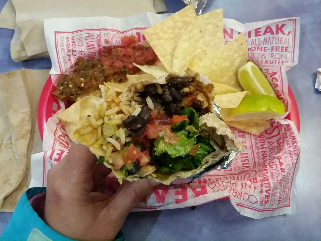 "Photo of Barberitos  by <a href=""/members/profile/Tellitlikeitis"">Tellitlikeitis</a> <br/>vegan burrito <br/> March 26, 2018  - <a href='/contact/abuse/image/44017/376571'>Report</a>"