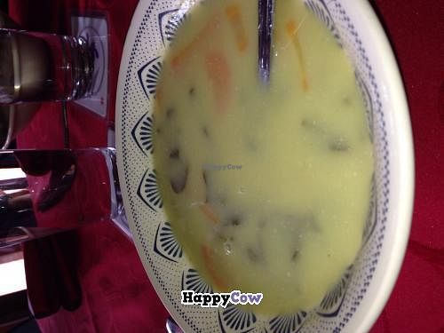 """Photo of Akemy Sushi Hosteria Restaurante  by <a href=""""/members/profile/Labylala"""">Labylala</a> <br/>Miso bean soup  <br/> December 18, 2013  - <a href='/contact/abuse/image/44020/60496'>Report</a>"""