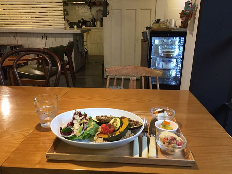 """Photo of Cook and Book - 쿡앤북  by <a href=""""/members/profile/LinnDaugherty"""">LinnDaugherty</a> <br/>eggplant steak <br/> October 5, 2016  - <a href='/contact/abuse/image/44022/179769'>Report</a>"""