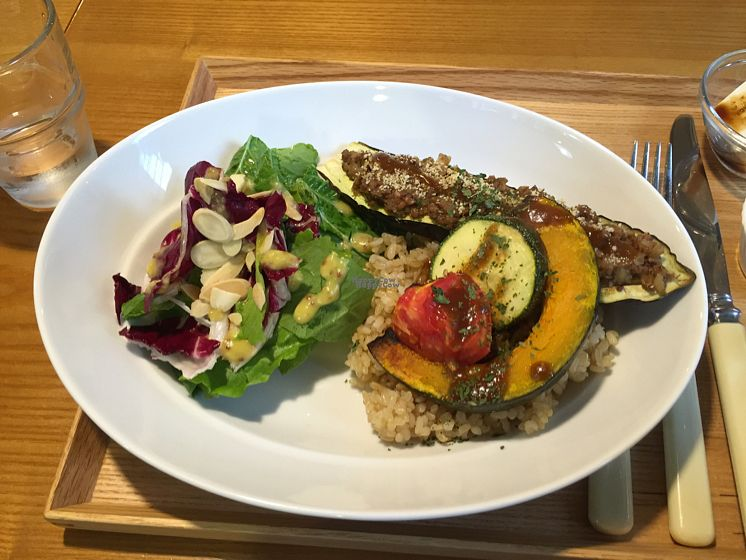 """Photo of Cook and Book - 쿡앤북  by <a href=""""/members/profile/LinnDaugherty"""">LinnDaugherty</a> <br/>eggplant steak close up <br/> October 5, 2016  - <a href='/contact/abuse/image/44022/179770'>Report</a>"""