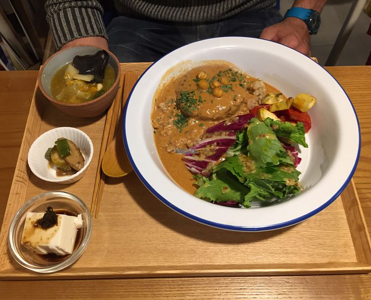 """Photo of Cook and Book - 쿡앤북  by <a href=""""/members/profile/LinnDaugherty"""">LinnDaugherty</a> <br/>vegan burger <br/> October 13, 2016  - <a href='/contact/abuse/image/44022/181802'>Report</a>"""