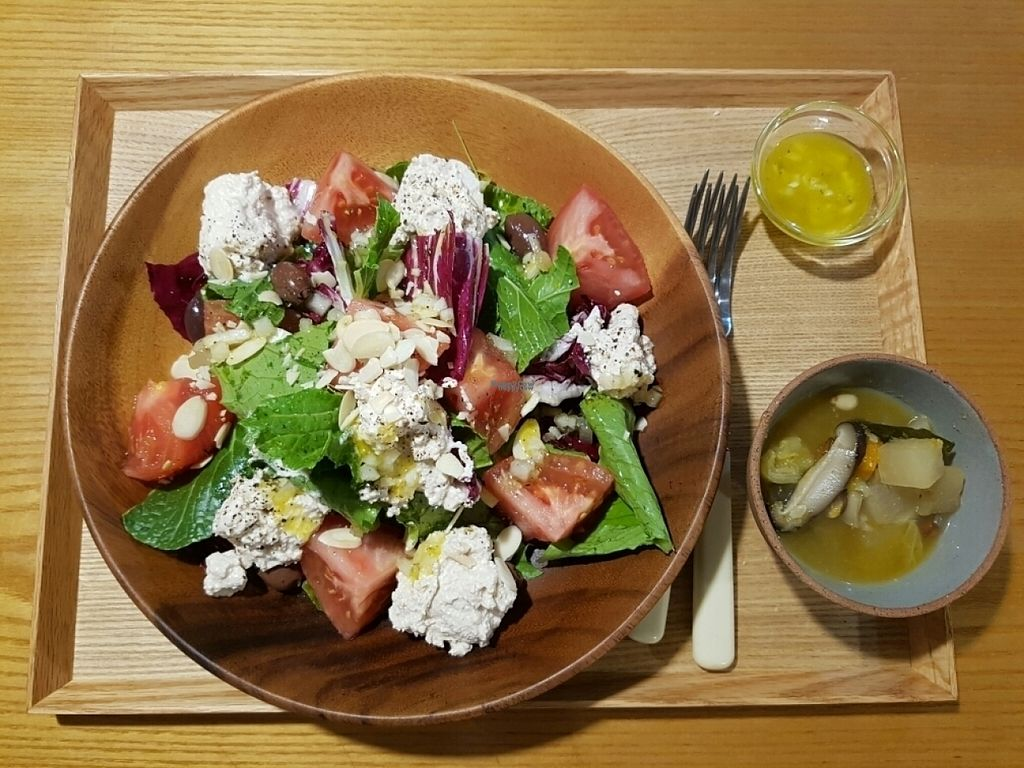 """Photo of Cook and Book - 쿡앤북  by <a href=""""/members/profile/mfrenette"""">mfrenette</a> <br/>Soy ricotta salad <br/> October 31, 2016  - <a href='/contact/abuse/image/44022/185563'>Report</a>"""