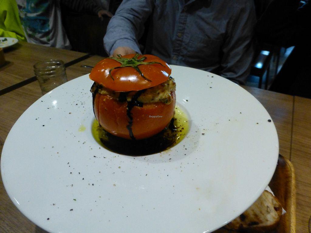 "Photo of MiaCucina My Kitchen - Tianmu  by <a href=""/members/profile/steveveg"">steveveg</a> <br/>MiaCucina Stuffed Tomato <br/> April 4, 2016  - <a href='/contact/abuse/image/44030/142706'>Report</a>"