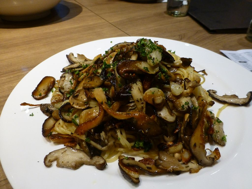 """Photo of MiaCucina My Kitchen - Tianmu  by <a href=""""/members/profile/steveveg"""">steveveg</a> <br/>MiaCucina Mushrooms <br/> April 4, 2016  - <a href='/contact/abuse/image/44030/142708'>Report</a>"""