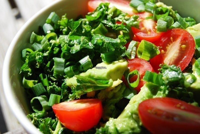 "Photo of Naked Sprout  by <a href=""/members/profile/shandy_rae"">shandy_rae</a> <br/>One of the Farm to Table items, Happy Kale salad with Avo. Sesame oil and lime dressing.  <br/> September 23, 2016  - <a href='/contact/abuse/image/44036/177513'>Report</a>"