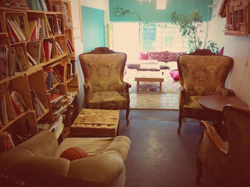 Photo of Komsu Kafe  by Tal <br/>Komsu Kafe - upstairs <br/> September 12, 2015  - <a href='/contact/abuse/image/44053/117462'>Report</a>