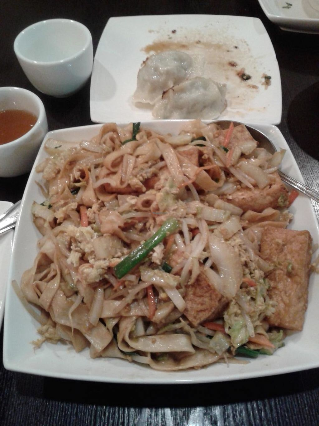 """Photo of Nomad Asian Bistro  by <a href=""""/members/profile/chobesoy"""">chobesoy</a> <br/>hand pulled fresh noodles requested with tofu <br/> January 23, 2014  - <a href='/contact/abuse/image/44101/186952'>Report</a>"""