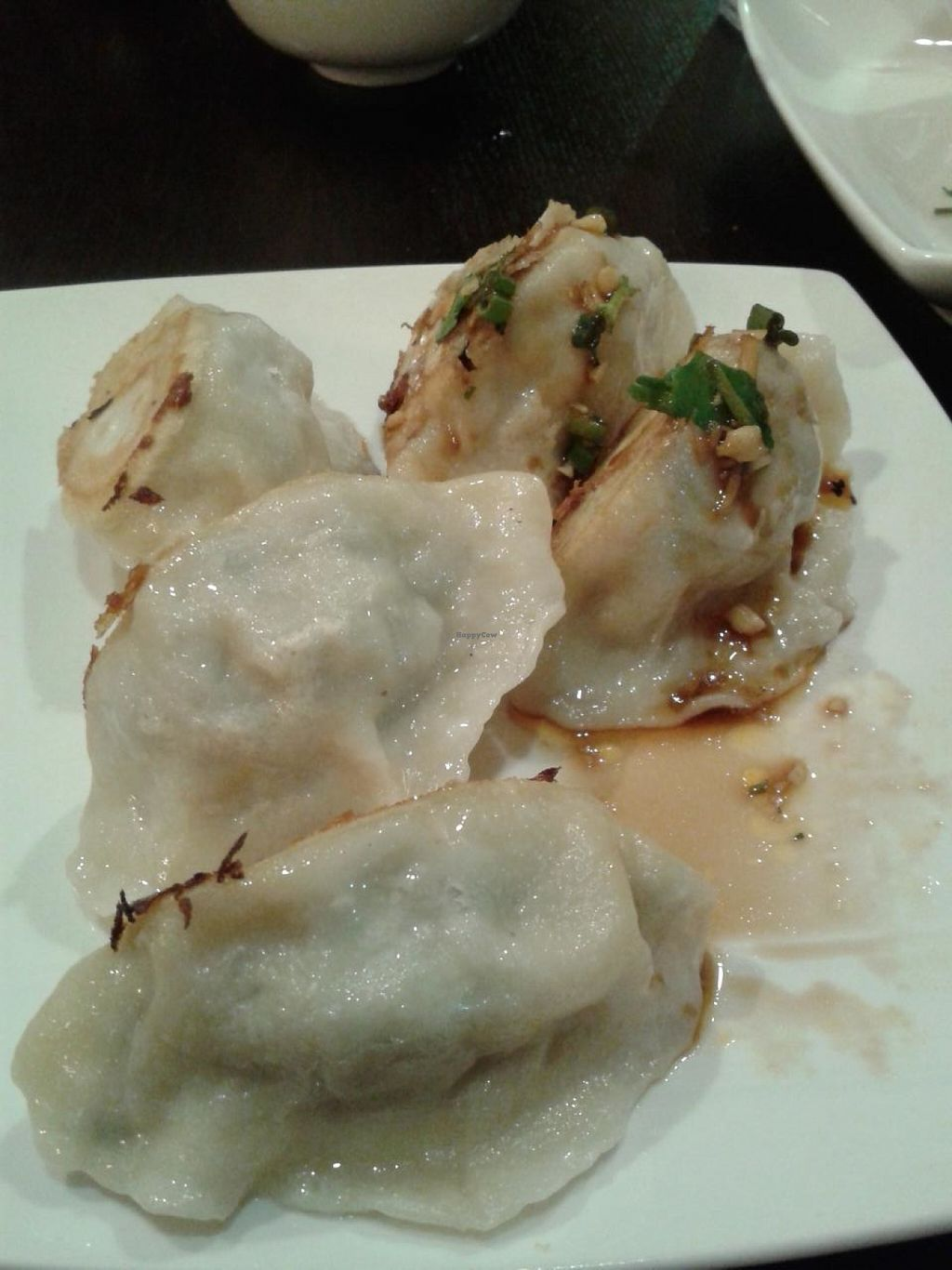 """Photo of Nomad Asian Bistro  by <a href=""""/members/profile/chobesoy"""">chobesoy</a> <br/>fantastic veggie dumplings <br/> January 23, 2014  - <a href='/contact/abuse/image/44101/186953'>Report</a>"""