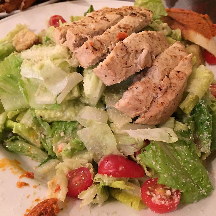"""Photo of Earth Bistro  by <a href=""""/members/profile/StarshineM"""">StarshineM</a> <br/>Vegan chicken salad <br/> September 9, 2017  - <a href='/contact/abuse/image/44103/302753'>Report</a>"""