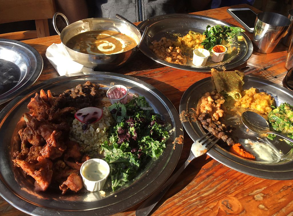 """Photo of The Sudra  by <a href=""""/members/profile/kanojia"""">kanojia</a> <br/>wow! best Indian vegan food in Portland  <br/> December 21, 2016  - <a href='/contact/abuse/image/44119/221132'>Report</a>"""