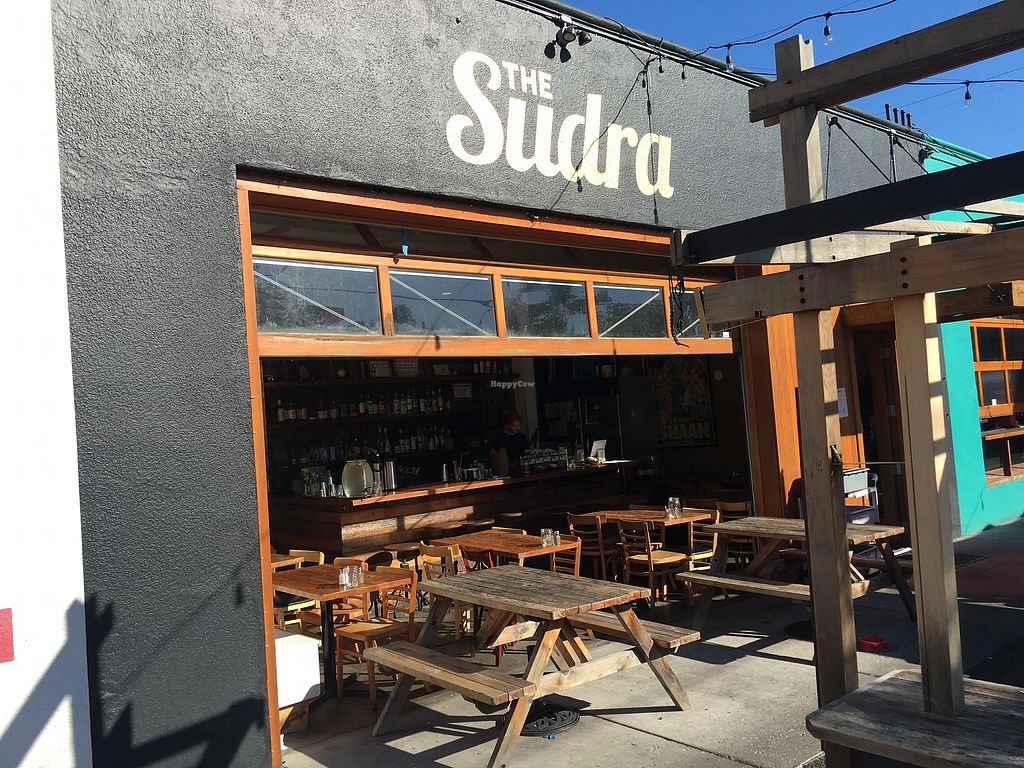 """Photo of The Sudra  by <a href=""""/members/profile/Veg4Jay"""">Veg4Jay</a> <br/>Store Front <br/> October 16, 2017  - <a href='/contact/abuse/image/44119/315915'>Report</a>"""