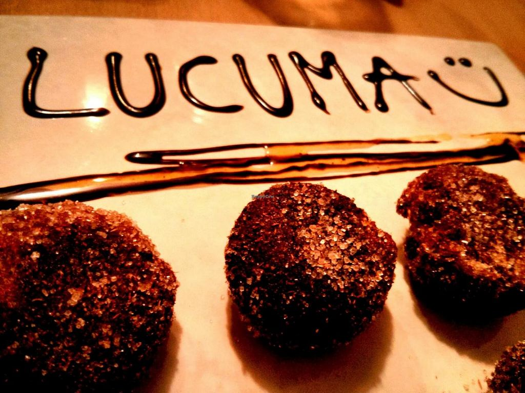 "Photo of Lucuma  by <a href=""/members/profile/aprocopio"">aprocopio</a> <br/>Improvised dessert prepared by the chef. Banana with coconut oil and brown sugar <br/> December 28, 2013  - <a href='/contact/abuse/image/44126/61142'>Report</a>"