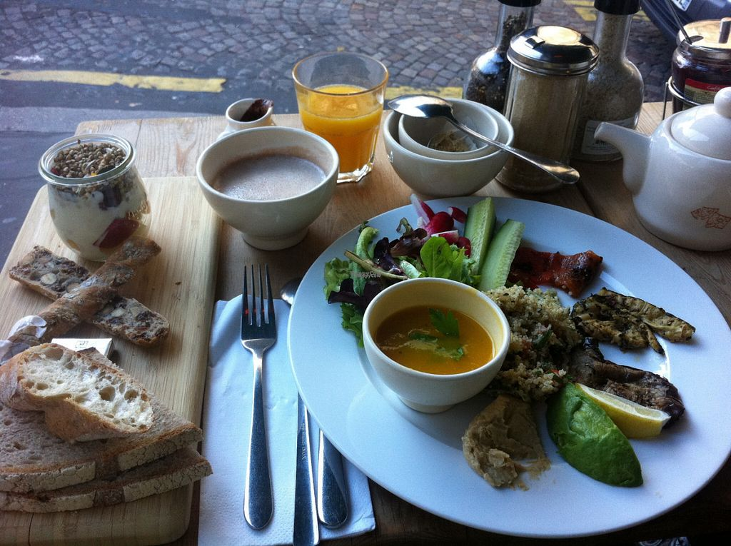 """Photo of Le Pain Quotidien - Lepic  by <a href=""""/members/profile/piffelina"""">piffelina</a> <br/>The brunch did its work <br/> August 2, 2016  - <a href='/contact/abuse/image/44131/164486'>Report</a>"""