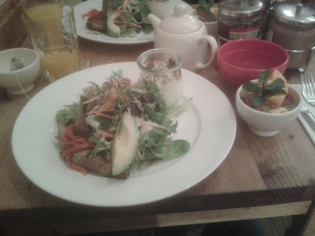 "Photo of Le Pain Quotidien - Marais  by <a href=""/members/profile/JonJon"">JonJon</a> <br/>The vegan brunch <br/> December 28, 2013  - <a href='/contact/abuse/image/44133/61115'>Report</a>"