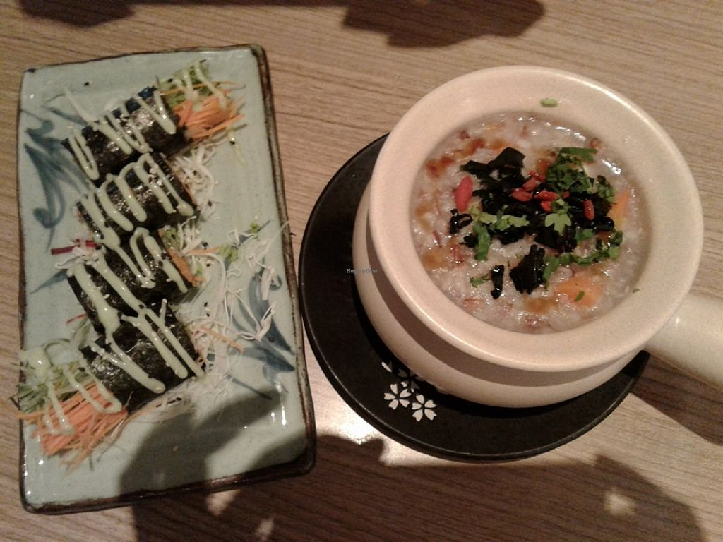 """Photo of Simple Life - Jalan Sultan Ismail  by <a href=""""/members/profile/sfalee"""">sfalee</a> <br/>蔬菜壽司,五穀糙米粥 Vegetable Sushi & Five Grains Porridge   <br/> June 21, 2016  - <a href='/contact/abuse/image/44155/155251'>Report</a>"""